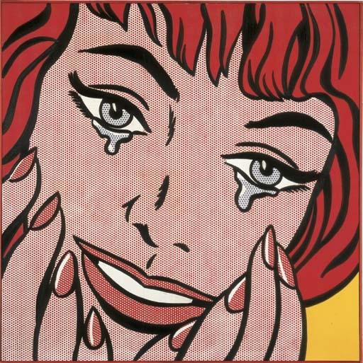 Lichtenstein Roy | Happy Tears (1964) | MutualArt