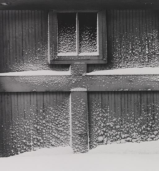 Attrayant Artwork By Minor White, Snow On Garage Door, Rochester, New York, Made