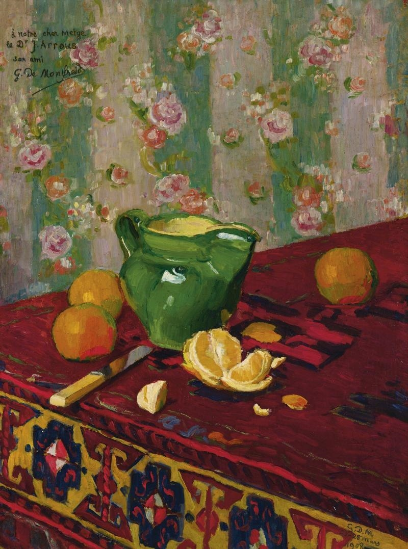 Georges-Daniel de Monfreid | Nature Morte aux Oranges (1908) | MutualArt