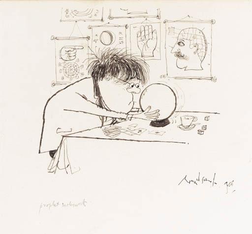 Searle Ronald | Molesworth: Eye of the prophet (1956) | MutualArt