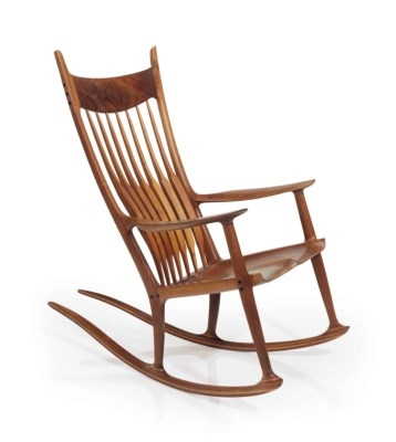 Pleasing Maloof Sam A Rocking Chair 1987 Mutualart Ibusinesslaw Wood Chair Design Ideas Ibusinesslaworg