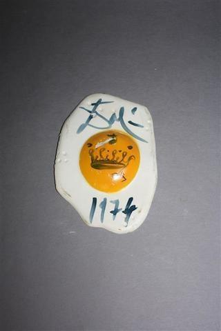 Dalí Salvador | Egg with Crown (1974) | MutualArt