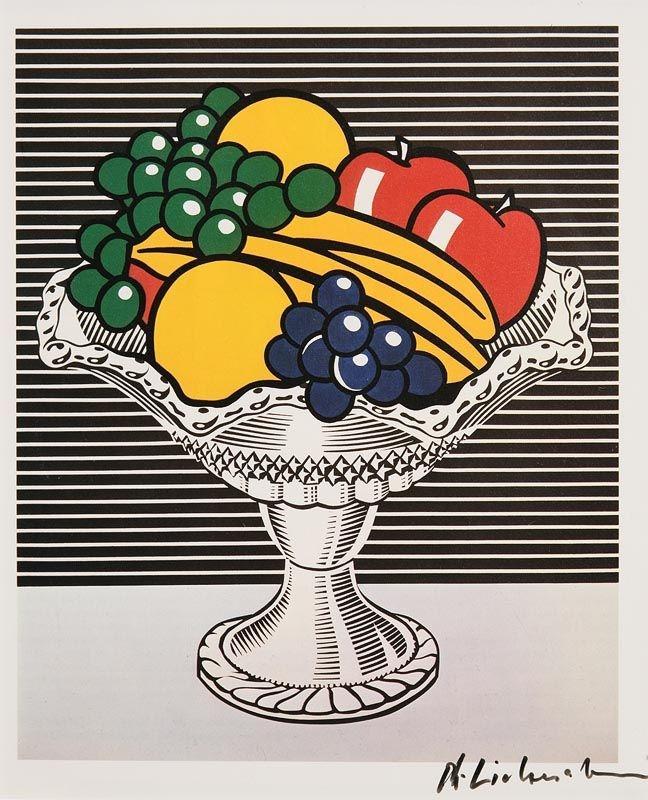 Lichtenstein Roy | Still Life with Crystal Bowl (1982) | MutualArt