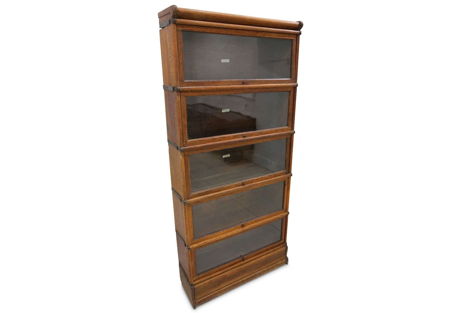 Globe Wernicke Co Ltd Sectional Graduated Bookcase Mutualart