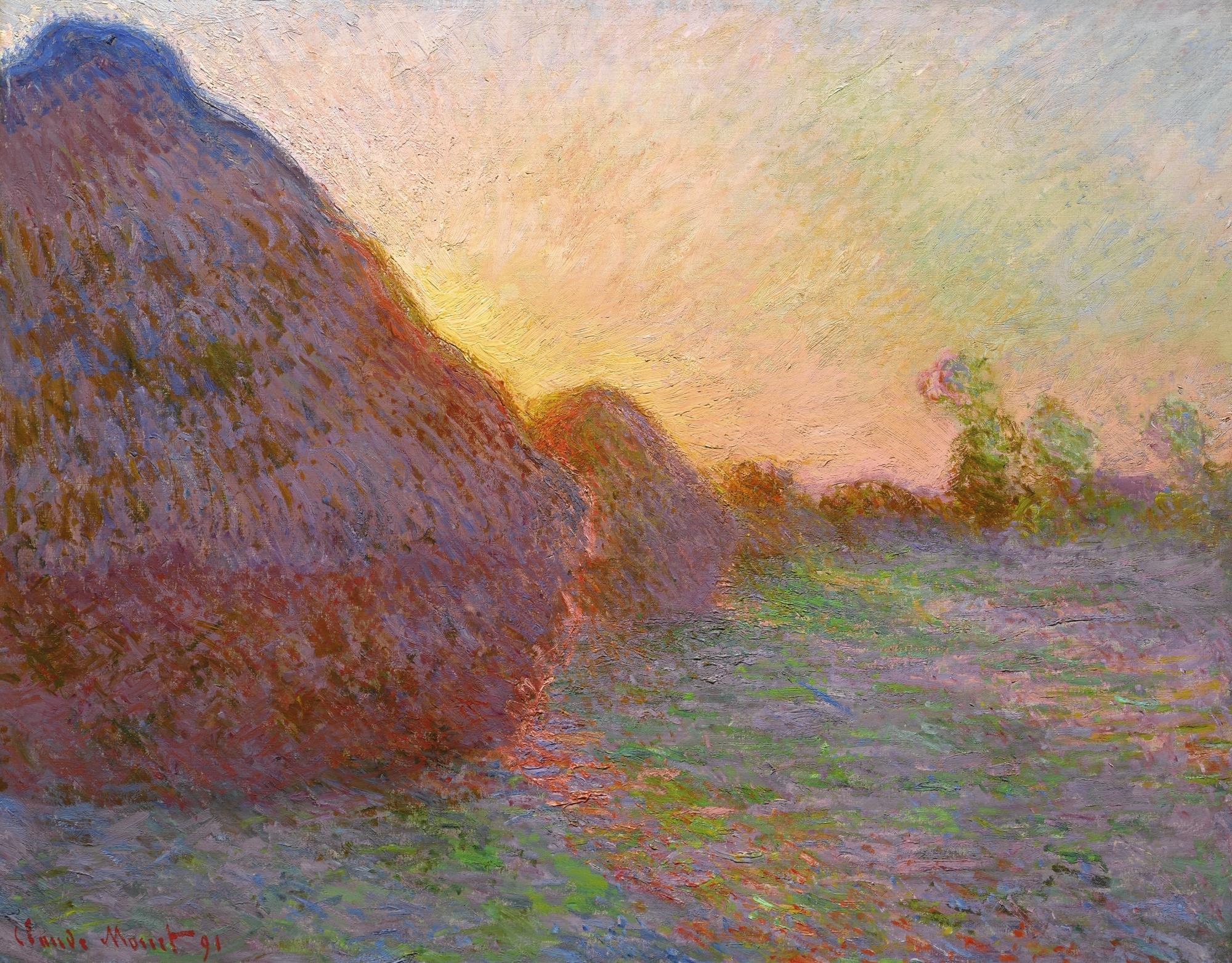 Monet Claude | MEULES | MutualArt