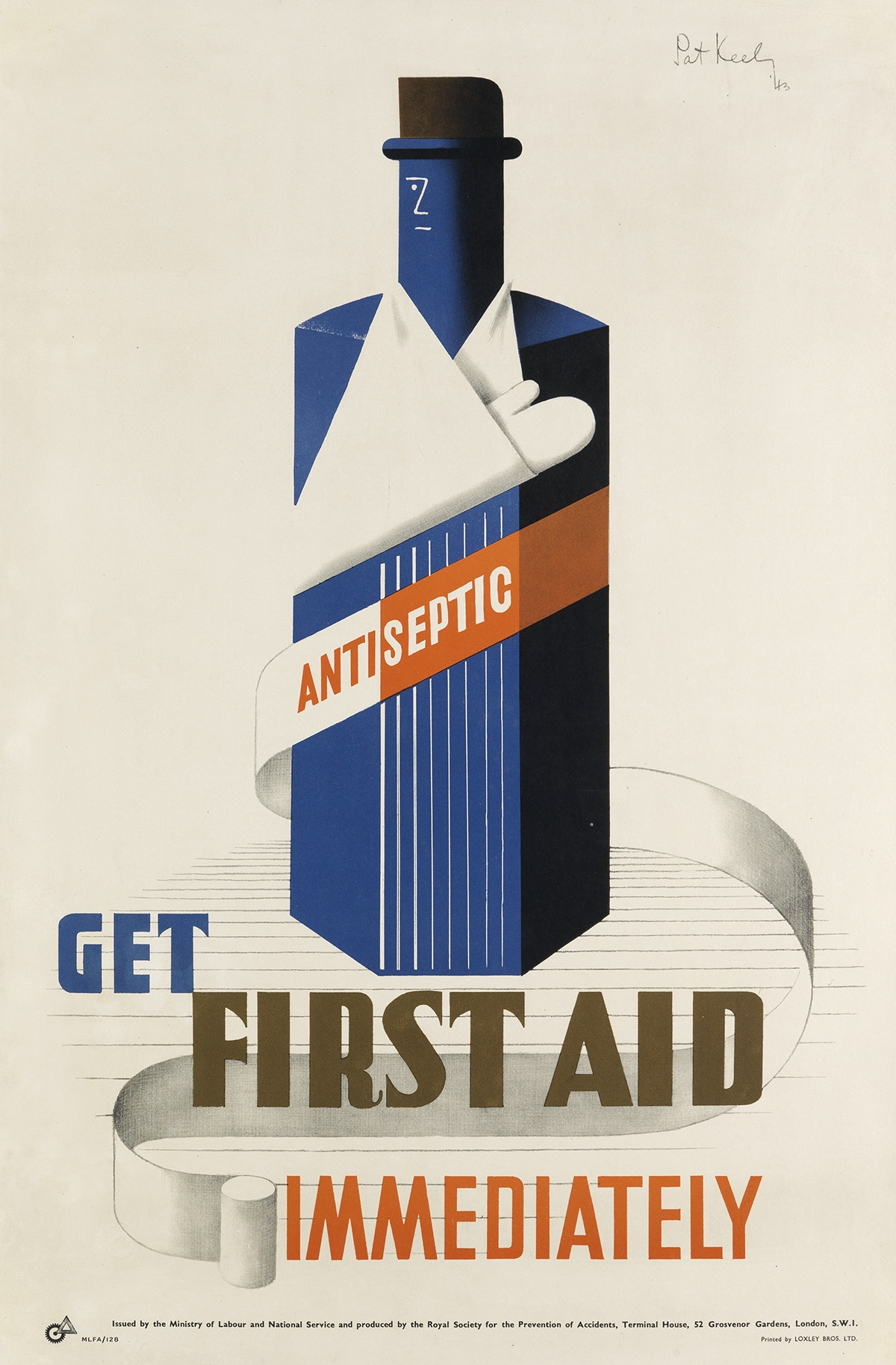 Patrick CokayneKeely | GET FIRST AID IMMEDIATELY