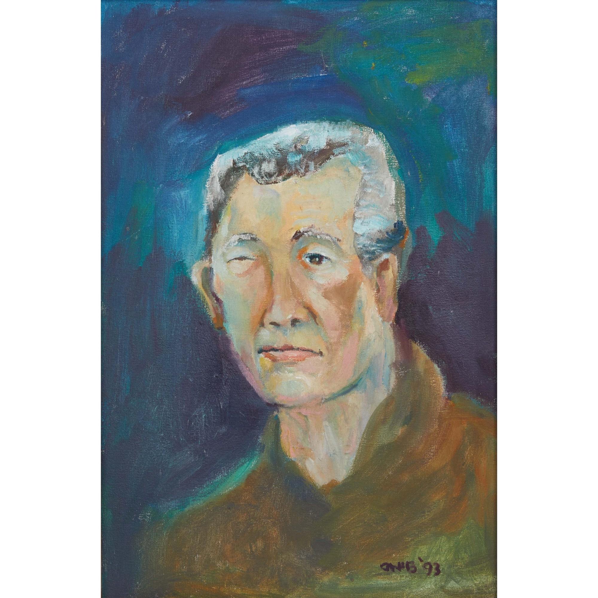 Olmedo Onib Portrait Of Mauro Malang Santos 1993 Mutualart