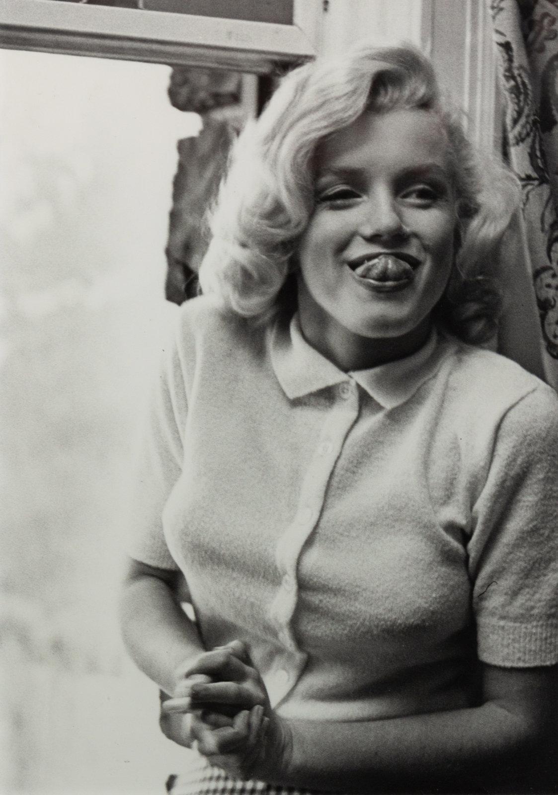 Marilyn Monroe Tongue