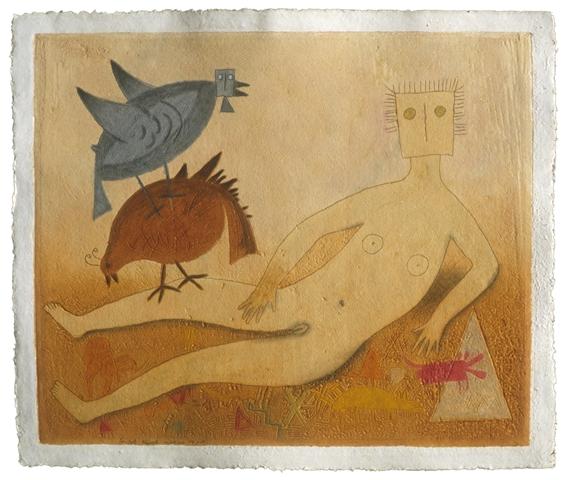 Rómulo Teódulo La Venus Desnuda 1987 Mutualart
