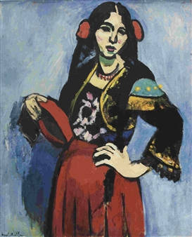 An analysis of gestures in the paintings of henri matisse