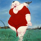 Chinese Fatties - Artist Village Gallery