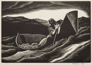 Fire, 1948 | Rockwell kent, Rockwell, Lithograph