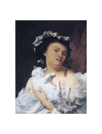 An analysis of reclining nude a painting by gustave courbet