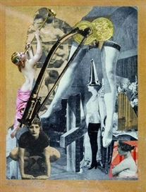 Artwork by Hannah Höch, Dada-Ernst, Made of Collage on paper