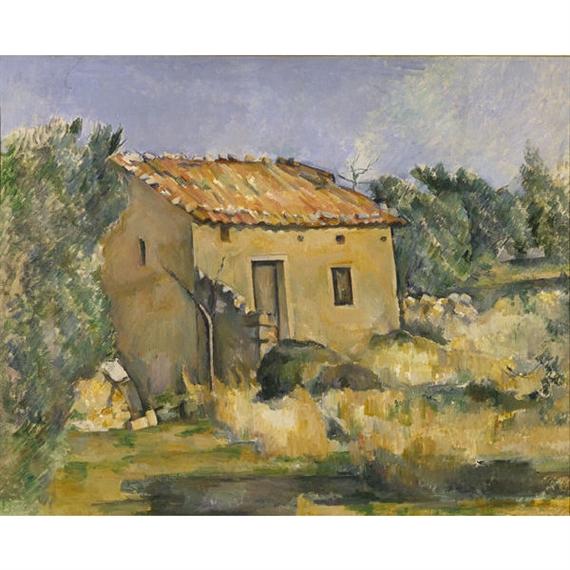 Abandoned House Near Aix-en-Provence (1885