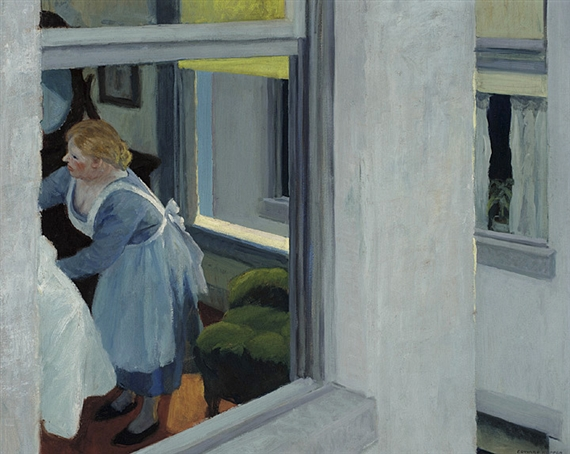 Artwork by Edward Hopper, Apartment Houses, Made of Oil on canvas