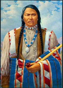 Chief Ouray of the Utes By Robert Lindneux ,1950