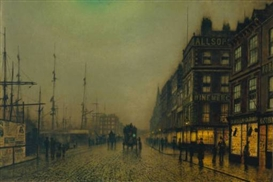 John Atkinson Grimshaw (British, 1836 - 1893)