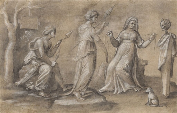 Biagio Pupini, The Three Fates