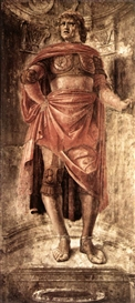 Donato Bramante, Man with a Broadsword
