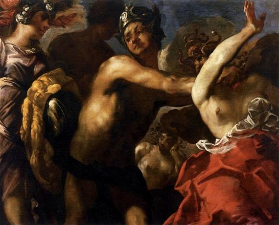 Maffei Francesco Perseus Cuts The Medusa S Head Off 1650