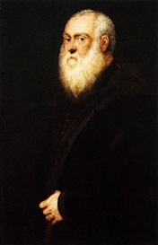 Jacopo Tintoretto, Portrait of a White-Bearded Man