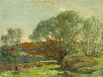 Pastureland, Cape Ann By Frederick J. Mulhaupt