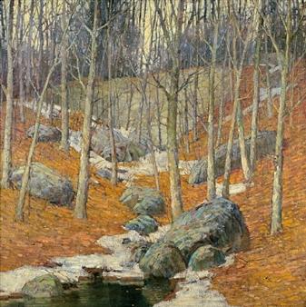 Winter near Gloucester, Massachusetts By Frederick J. Mulhaupt