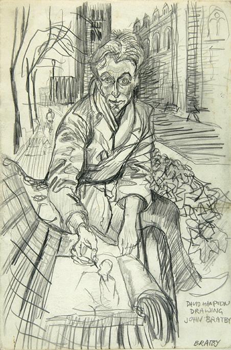 John Bratby Drawings Artwork by John Bratby