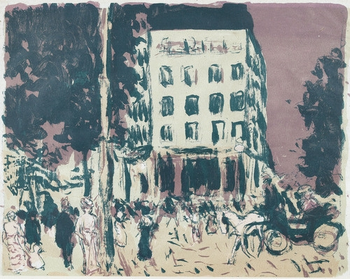 Pierre bonnard paysage pencil drawing for Pierre bonnard la fenetre