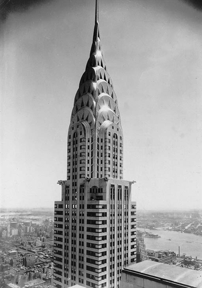 Artwork By Margaret Bourke White Chrysler Building
