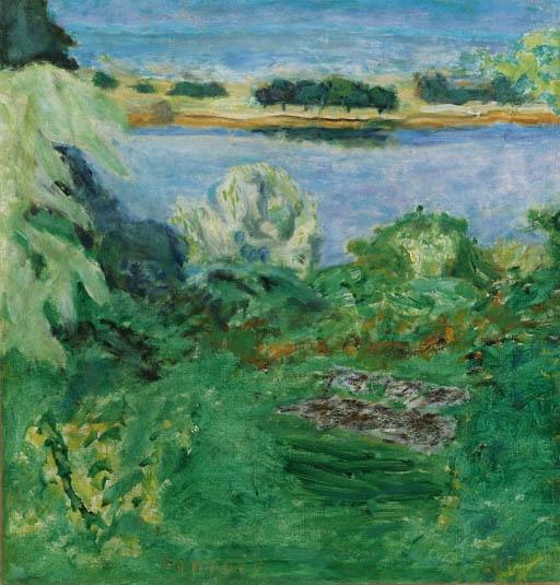 Artwork by Pierre Bonnard, La Seine  Vernonnet