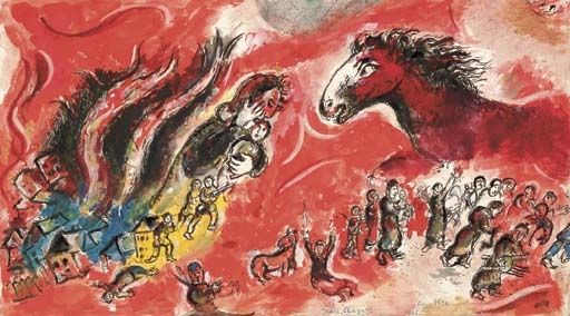 Image result for marc chagall guerre