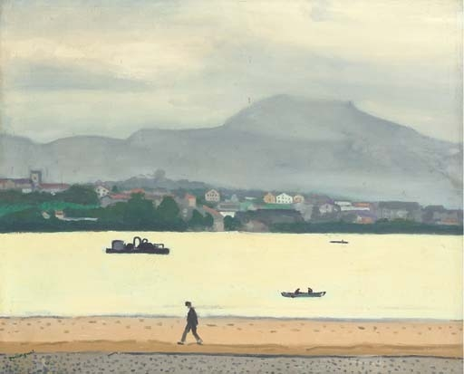 Artwork by Albert Marquet, La route, Hendaye, Made of oil on canvas