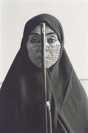 Shirin Neshat, Rebellious Silence (Women of Allah Series)