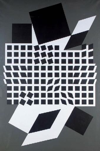 Vasarely Victor | Oeta II (1956) | MutualArt
