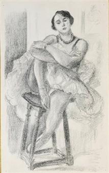 Danseuse au Tabouret, from Six Danseuses