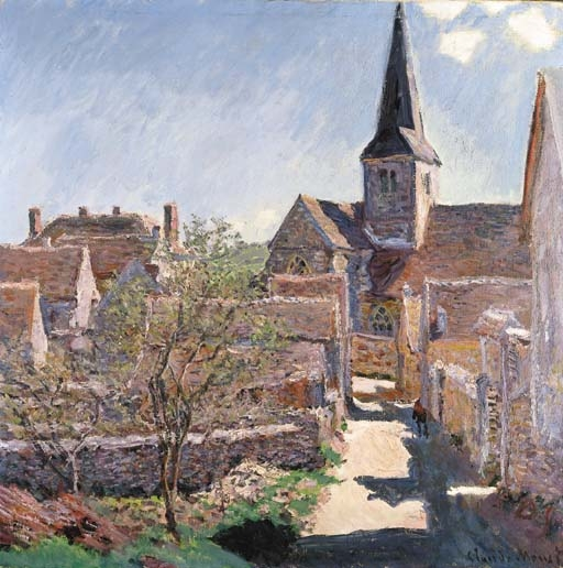 Artwork by Claude Monet, Bennecourt