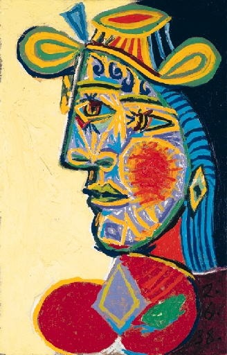 Picasso Pablo | Buste de femme à la frange | MutualArt