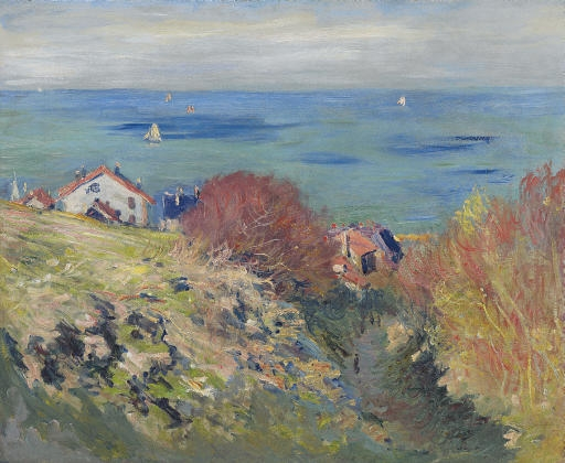 Artwork by Claude Monet, Pourville