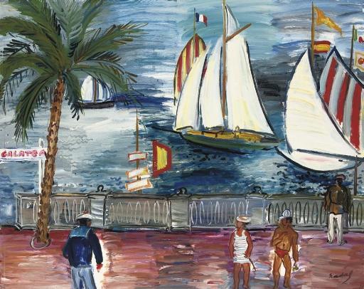 Artwork by Carlos Nadal, La Rochelle