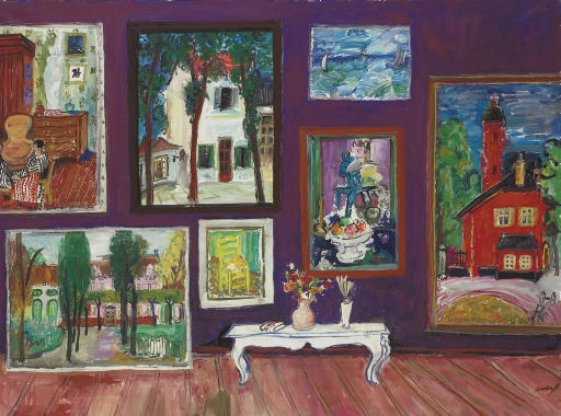 Artwork by Carlos Nadal, Grand collection, Made of oil on canvas