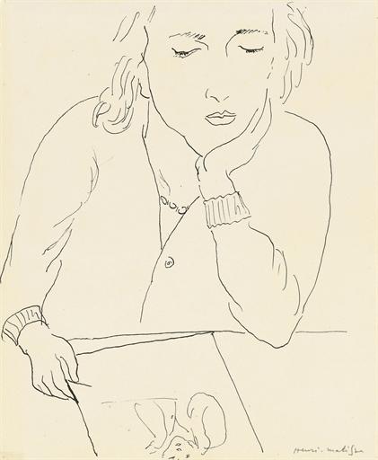 Artwork by Henri Matisse, Femme lisant