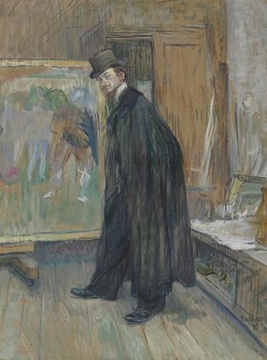 Artwork by Henri de Toulouse-Lautrec, Portrait de Henri Nocq