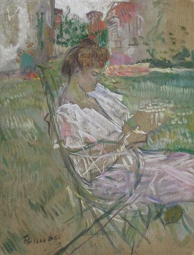 Artwork by Henri de Toulouse-Lautrec, Madame Misia Natanson
