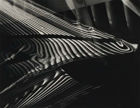 Artwork by Carlotta Corpron, Light abstraction, Made of Silver contact print