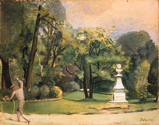 Balthus le jardin du luxembourg for Art du jardin zbinden sa