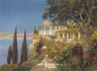 A villa on the Amalfi coast By Alois Arnegger