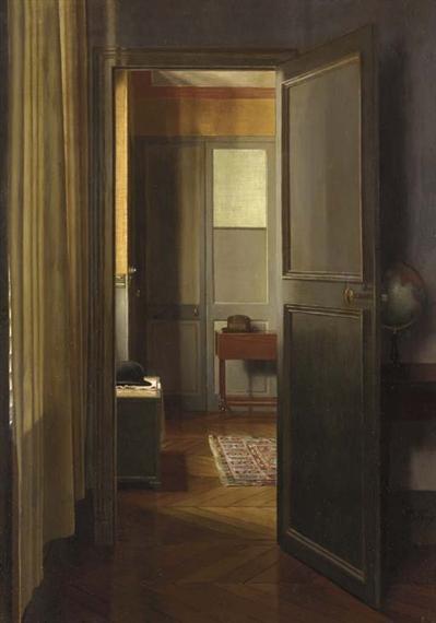 Roy Pierre | Intérieur (Entrée d\'un appartement Parisien ...