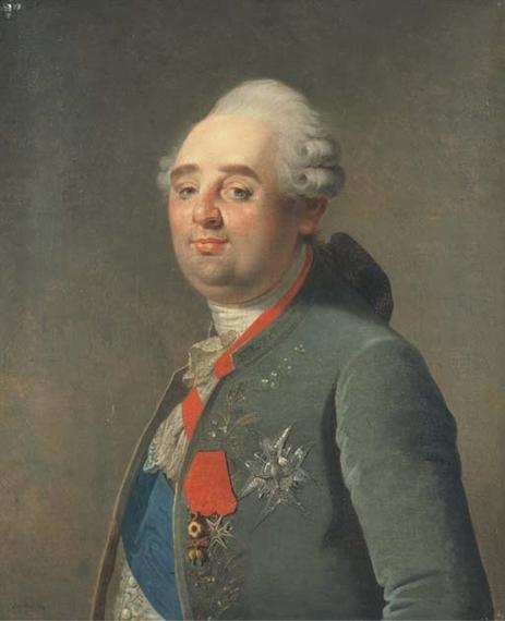 Martin Drolling - Portrait de Louis XVI portant...
